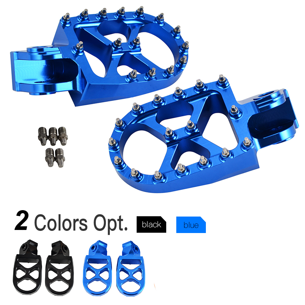 MX Racing Foot Pegs FootRests Pedals For Husqvarna TC TE FC FE 65 85 125 200