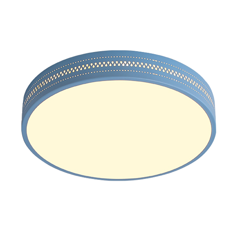 Macaron modern simple ceiling light round Ceiling mounted lamp acrylic lampshade foyer kids room ceiling lamp lighting fixture modern simple ceiling light glass colorful macaron style lovely sweet family deco lighting fixture aluminum surface mounted lamp