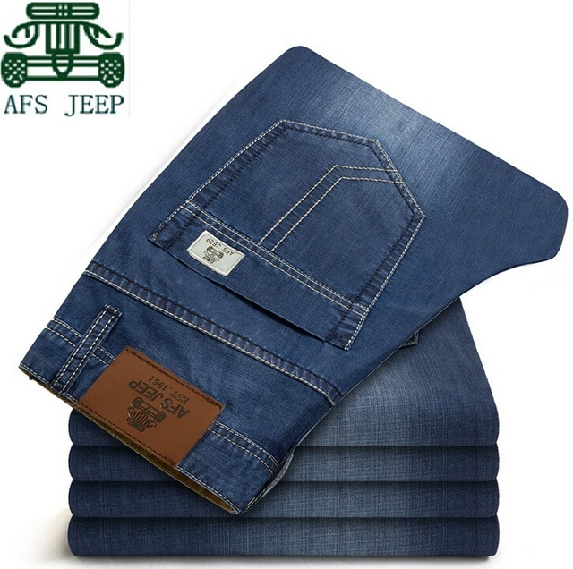 2015 hombres del invierno de 100% algodón pantalones casuales, espesor de cachemir interior Man ' s más los pantalones del tamaño, AFS JEEP ropa para hombre