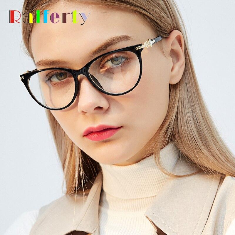 Damenbrillen Ehrgeizig Ralferty Katze Brillen Rahmen Frauen Retro Schwarz Optic Myopie Brillen Hohe Qualität Strass Brillen Zubehör F97544 Zur Verbesserung Der Durchblutung Brillenrahmen