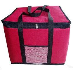 Очень большая и Высокая утолщение сумка-холодильник изолированный ланч сумка для пиццы контейнер для доставки свежих продуктов