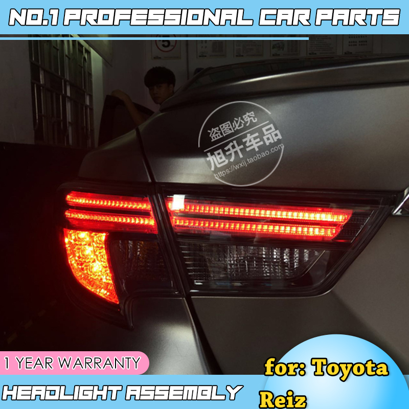 Car Styling for Toyota Reiz Mark X LEDTail Lights 2010 2011 2012 Mark X LED Tail Light Rear Lamp DRL+Brake+Park+Signal