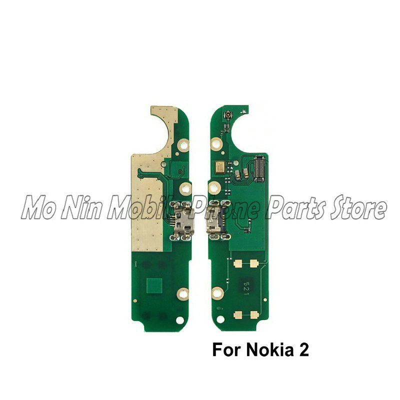 New Microphone Module+USB Charging Port Board Flex Cable Connector Parts For Nokia 3 2 3.1plus 5 6 6.1 Replacement Parts