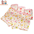 2 Pcs/lot Children Underwear Girl  Flat Briefs Printing Cotton Cartoon Girl  Flat-bottomed Panties for 2-8Y ATNN0148