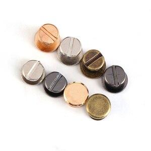 10 комплектов, 10 мм, для маникюра, с заклепками, двойной плоской головкой, ремнем, заклепками, для багажа, из кожи и металла, высокое качество