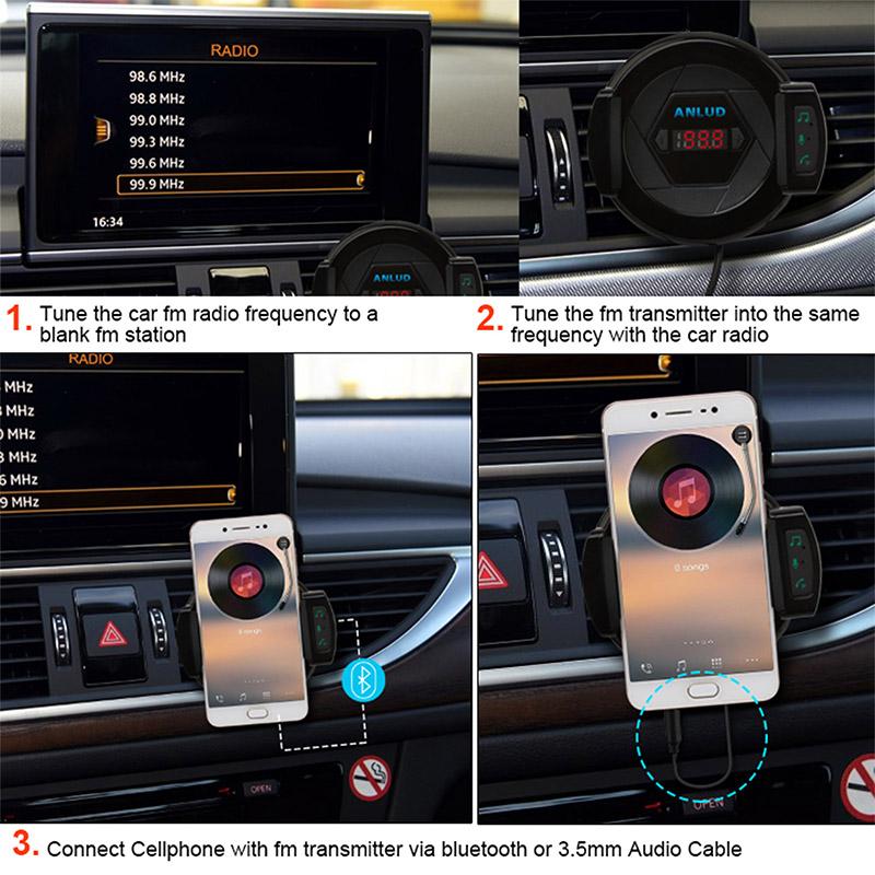 car phone holder fm transmitter (10)