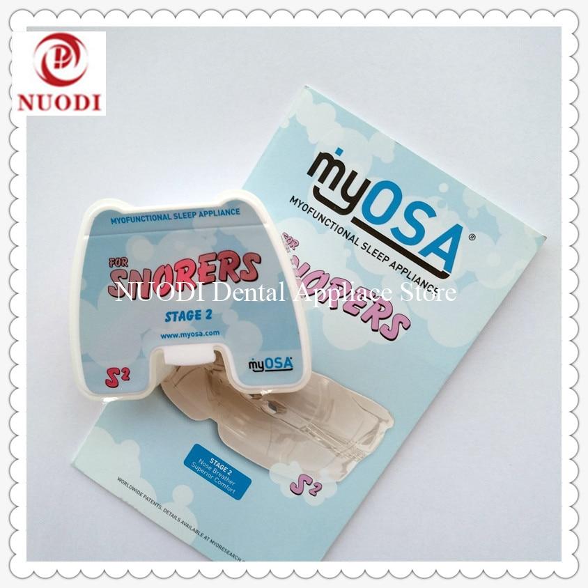 MRC Dental teeth trainer appliance S2/MyOSA for Gasping/Obstructive Sleep Apnea trainer brace  Sleep mouth Breathing S2
