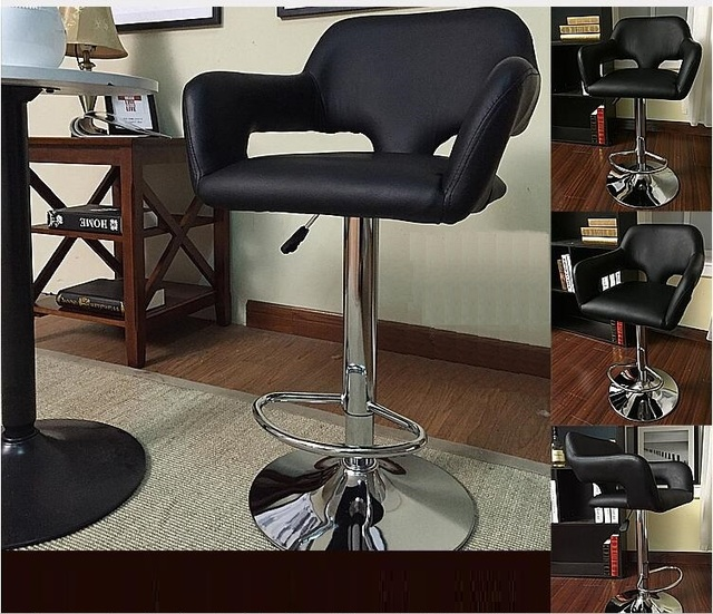 black salon chairs grey banquet chair covers hairdressing hall fashion stool lift rotation hair free shipping furniture table seat