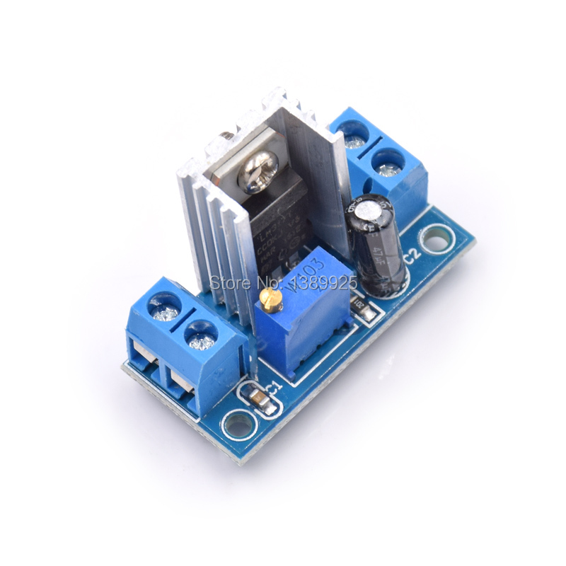 LM317 DC-DC Converter Buck Boost Step Down Circuit Board Module Power Supply Module Buck Boost Converter LM 317 Linear Regulator
