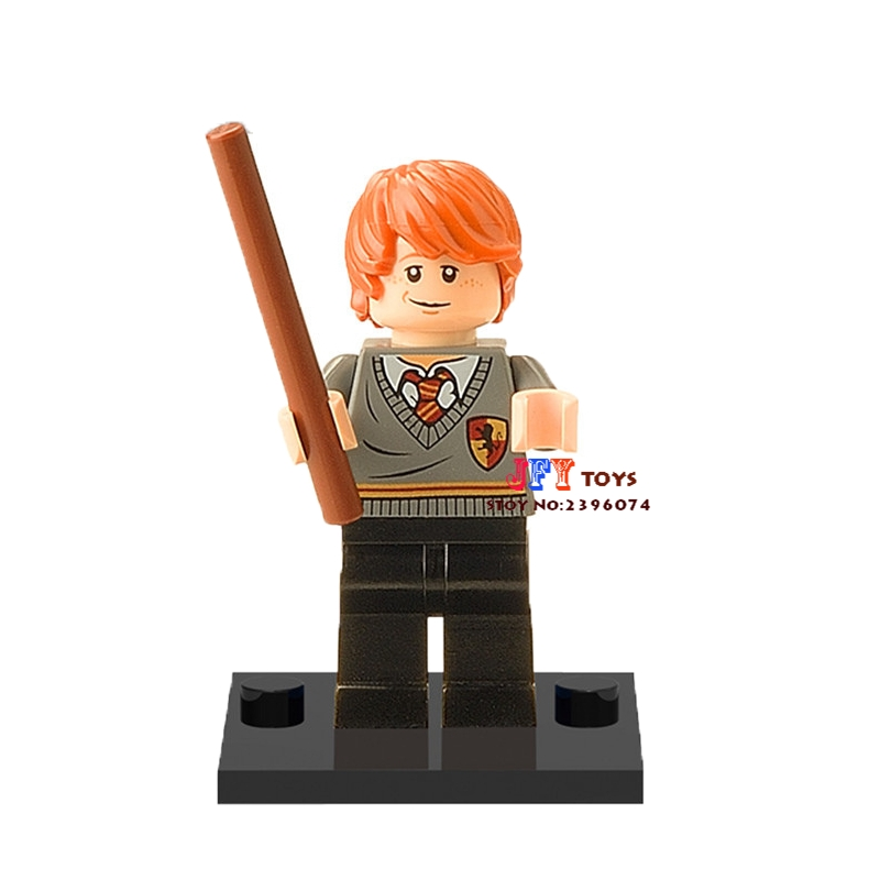 50pcs starwars Harry Potter Ron Weasley building blocks bricks friends for girl boy kids children toys brinquedos menina