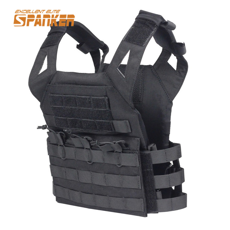 ФОТО Airsoft Hunting Shooting Molle Children Vest Wargame protector Combat  Plate Carrier Vest Outdoor Sport Clothing 5 color