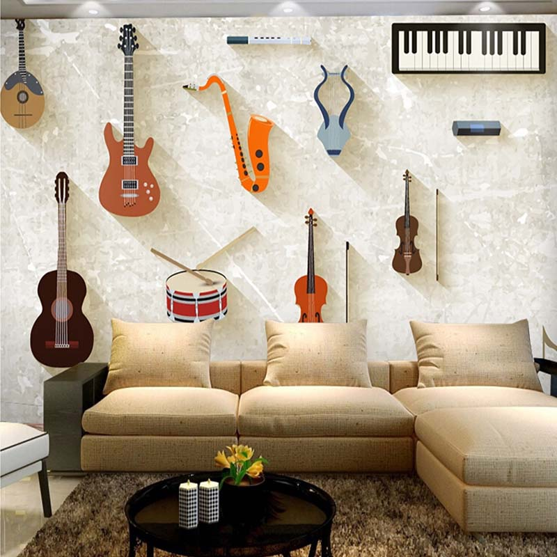 music wallpaper for bedroom and free shipping on
