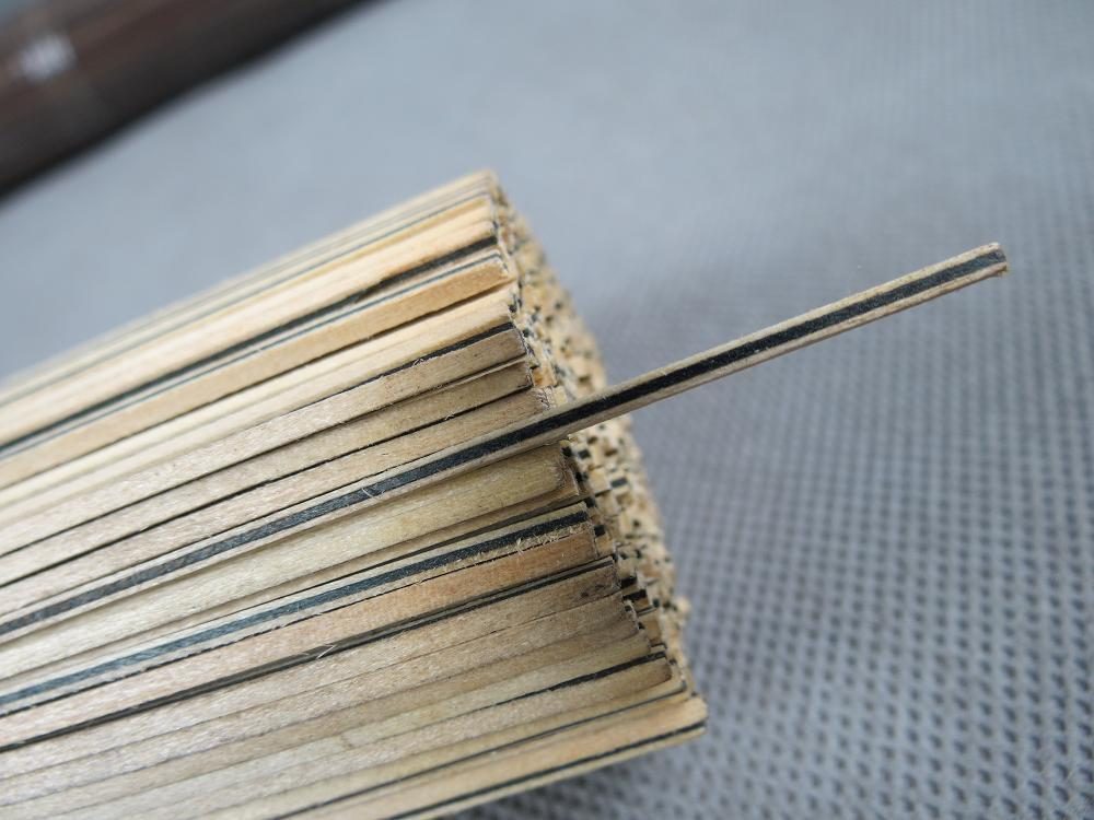 50STRIP LUTHIER FIGURED PURFLING C-57,Measures1.5mm X 1.5mm Thick And 810mm Long