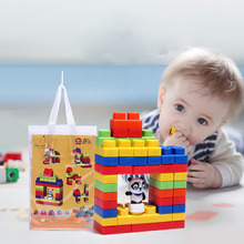 Large Particles Can Bite Soft Blocks Children Early Education Can Boiled Building Blocks Children's Educational Toys froebel education gabe 2 beech wood sensory toys early educational toys can smarter