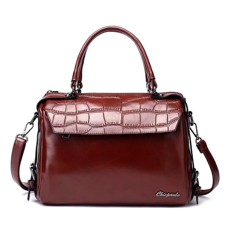 de couro mulher bolsas bolsas Marca : Chispaulo