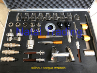 New 38pcs common rail injector disassembling dismantle tool kits diesel injector repairing tools