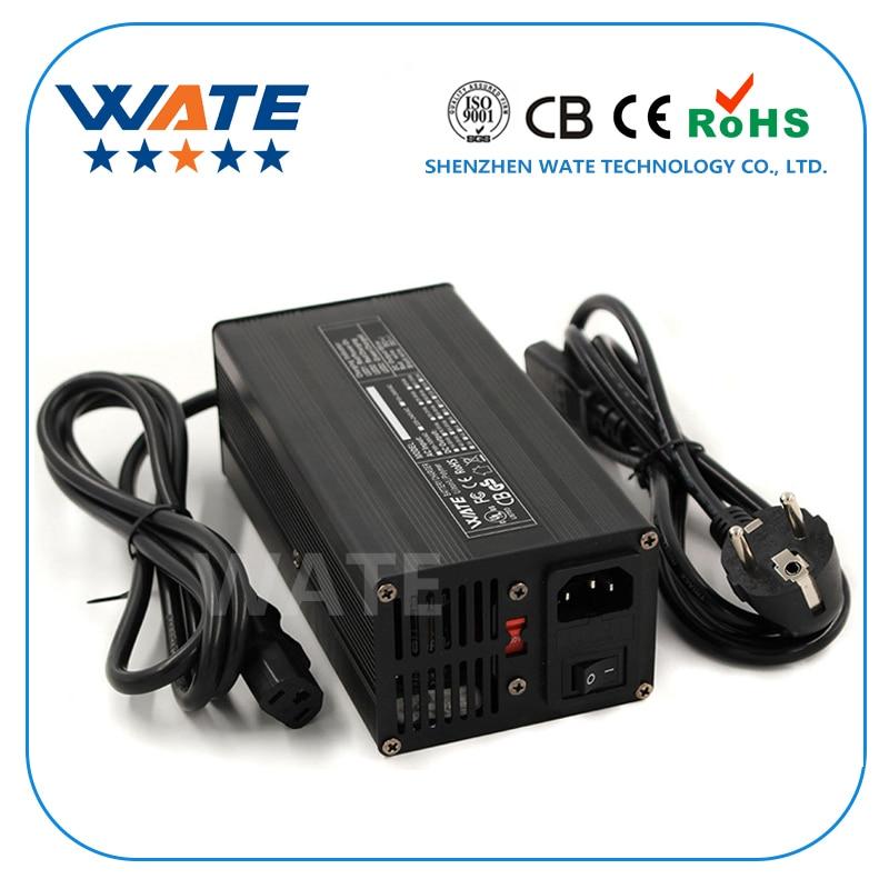 54 6V 7A Charger 13S 48V E Bike Li ion Battery Smart Charger Lipo LiMn2O4 LiCoO2