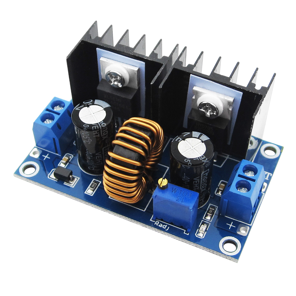 XL4016 PWM Adjustable 4-36V To 1.25-36V Step-Down Board Module Max 8A 200W DC-DC Step Down Buck Converter Power Supply liquid crystal displays dc dc step down power supply adjustable push button module with lcd display
