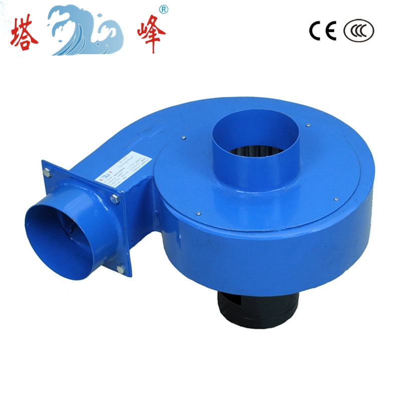 550w DC motor 48v high pressure powerful centrifugal fan blower industrial smoke dust exhauster