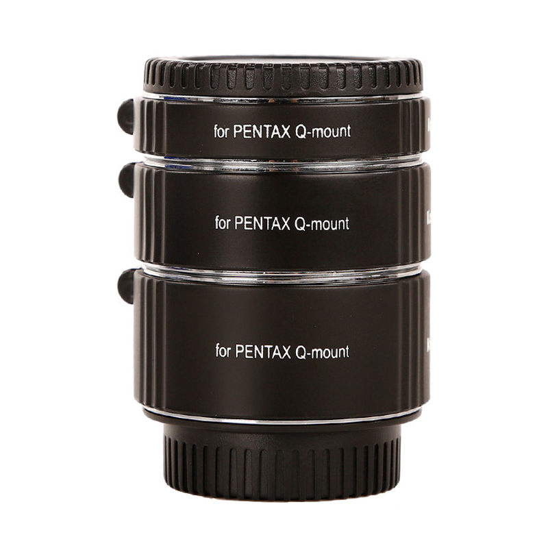 Micnova KK-PQ47 TTL Metal Extension Tube Set Copper AF Auto Focus for Pentax Q-Mount Camera Lens Close-up Image 10mm 16mm 21mmMicnova KK-PQ47 TTL Metal Extension Tube Set Copper AF Auto Focus for Pentax Q-Mount Camera Lens Close-up Image 10mm 16mm 21mm