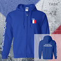 France French mens hoodies and sweatshirts off white jerseys polo sweat suit streetwear tracksuit nations flag fleece FRA zipper