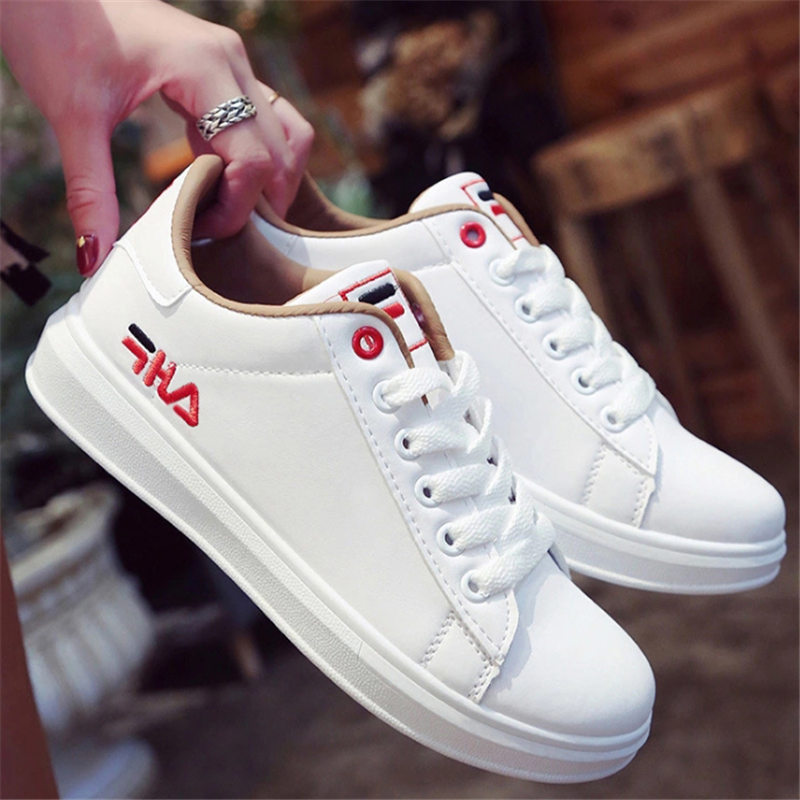 Shoes Woman Flat Sneakers White 2019 Chaussures Femme Running Shoes Women Basket Femme Disruptor Sport Shoes Women Basket Femme