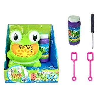 Детские Дети пузыря дуя нагнетателя воздуха Automatic форма лягушки подарок вечеринка по случаю Дня Рождения AN88 >> Shop4230023 Store