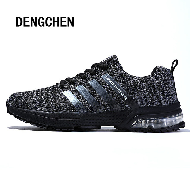 competitive price 81d2b a5cbd Hot Sale Running Shoes Men 2018 Brand Sneakers Breathable Air Mesh Shoes  Eva Adult Athletic TrainerSapatos Women Sport for Men