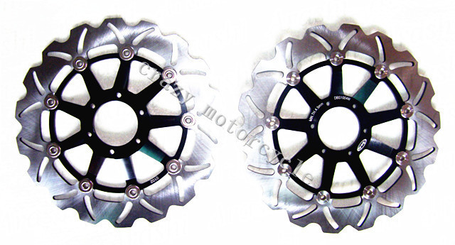 Free shipping motorcycle Brake Disc Rotor fit for Honda CBR900RR 1992-1993 XLV 1000 VARADERO 1999-2007 Front stainless steel front brake disc rotor for honda xlv1000 varadero 99 07 xlv 1000 10 11 gl1500 f6c valkyrie 97 03 cbr600 f4 99 00