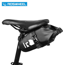 ROSWHEEL Waterproof Bike Waddle Bag High End Rainproof PVC MTB Bike Rear Bags Cycling Rear Seat Tail Bag Bicycle Bag 131363