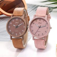 Women's Casual Quartz Leather Band New Strap Watch Analog Wr