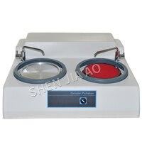 MP-2 Metallographische Probe Schleifen Und Polieren Maschine Desktop Doppel Disc Polieren Maschine Pre-mühle 220V