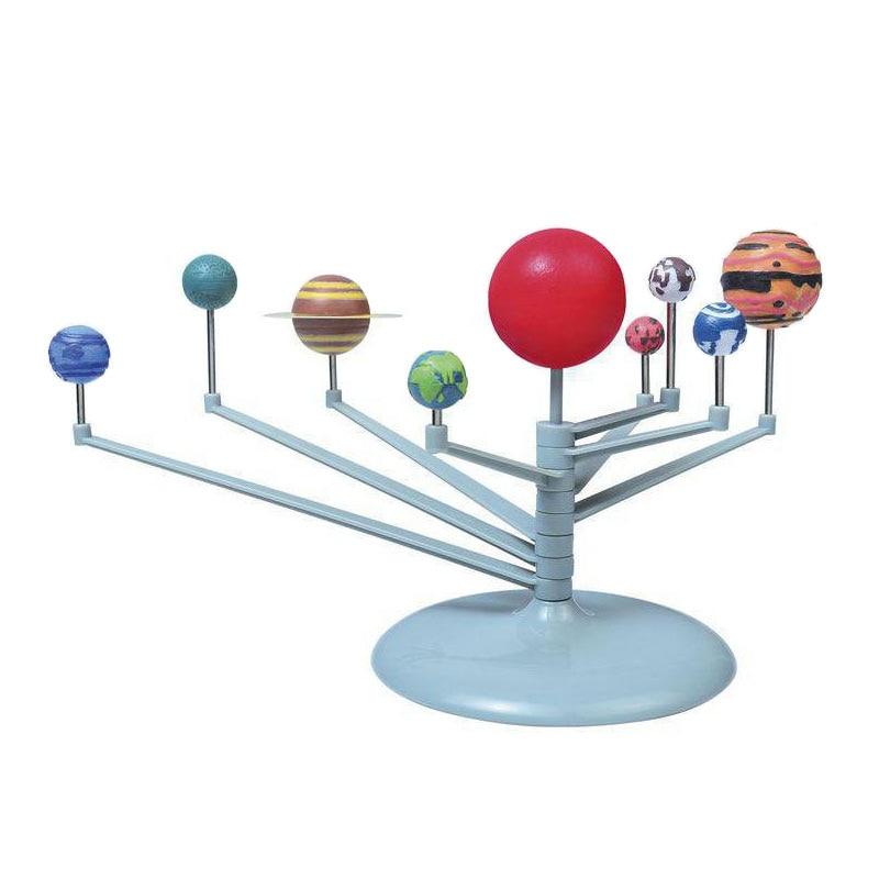Sistema Solar planetario pintura juguetes-astronomia Ciencia en artes-tallo manualidades Juguetes
