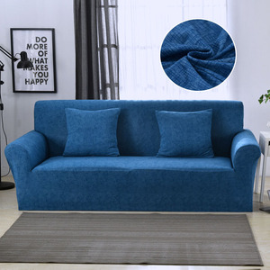 Image 3 - 24colors Slipcover Stretch Four Season Sofa Covers Furniture Protector Polyester Loveseat Couch Cover Sofa Towel 1/2/3/4 seater