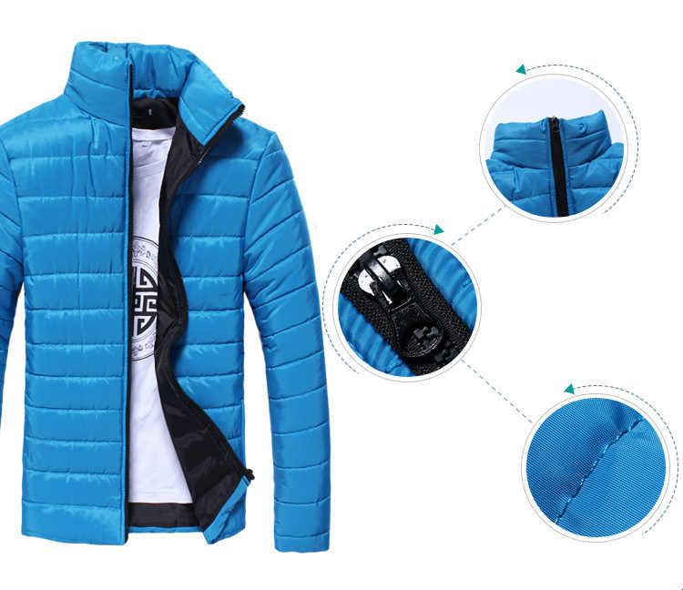 DIMUSI 男性の冬のジャケットフード付き熱ダウン綿のパーカー男性カジュアルパーカーウインドブレーカーウォームコート、 YA710