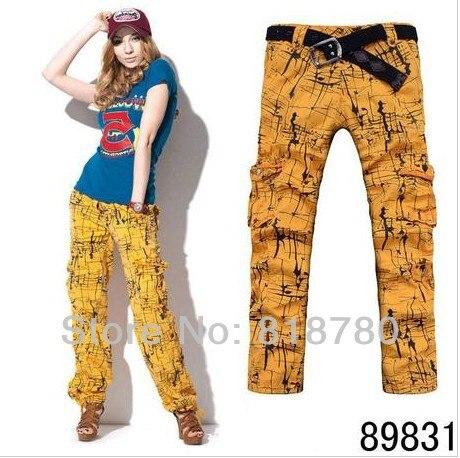 6c6f4452a47 Women Clothing Women s Camo Cargo Pants Harem Hip Hop Sweat Pants Dance  Costume Girls Plus Size Wide Leg Baggy Trousers 831