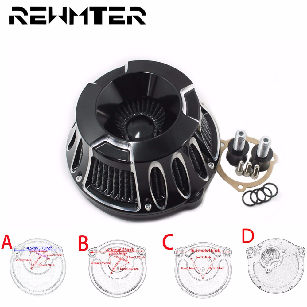 Edge Cut Contrast CNC Air Cleaner Intake Filter For Harley Sporter 883 1200