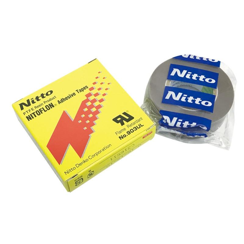 T0.18mmxW18/19mmxL10m 903UL Nitto Denko Tape P.T.F.E Nitoflon Adhesive Tape 903UL