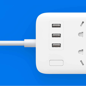 """Image 5 - מקורי XiaoMi Mi 6 יציאות עם 3 USB מהיר טעינה 2.1A USB חכם כוח רצועת כוח תקע מטען שקע ארה""""ב בריטניה האיחוד האירופי AU עבור טלפון"""