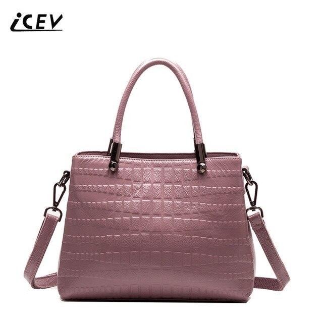 New Arrival Organizer Genuine Leather Handbags Bags Women Famous Brands Handbag Las High
