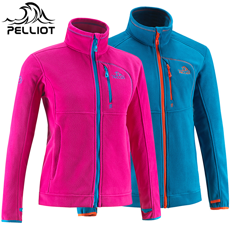 Free Shipping 2018 NEW PELLIOT Outdoor Soft Shell Assault Clothing Woman's Sports Jacket, Cardigan Warm Fleece Soft Shell miyake the original spring europe new women s casual jacket slim fold all match cardigan pleated jacket free shipping