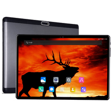 2.5D Tempered Glass 10 inch 10 Core Tablet PC Android 7.0 4GB RAM 128GB ROM 1920*1200 IPS 4G LTE 8.0 MP Camera DHL free shipping