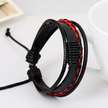2019 PU Leather Men/Women Bracelet Jewelry Man Anchor Bracelet Wristband Charm Braclet For Male Accessories Hand Cuff