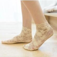 20PCS=10pairs 35.36.37, 38, 39, EU plus size new lace women's socks