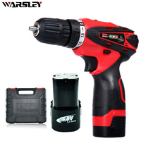 16 8V Cordless Electric Screwdriver Electric Drill Screwdriver Torque Adjustable With Power Tool Accessories Rechargeable Driver