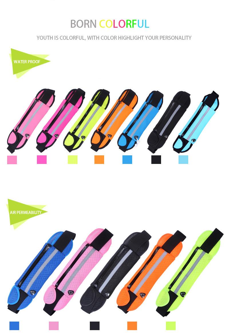Outdoor Running Waist Bag Waterproof Mobile Phone Holder Jogging Belt Belly Bag Women Gym Fitness Bag Lady Sport Accessories 23