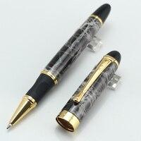 цзиньхао x450 с исполнительный серый мрамор и золотой ролика шариковая ручка канцтовары школьные и канцелярские принадлежности, пишущие ручки