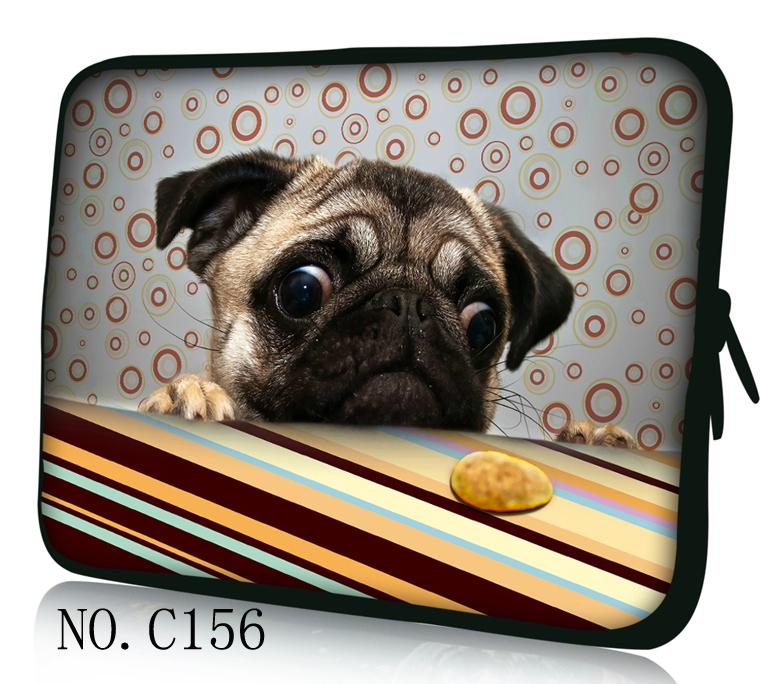 Hot Cute Pug 11.6 12 13.3 14 15 15.6 Laptop Bag Sleeve Case for HP Dell Sony Acer ASUS Lenovo ThinkPad Apple Samsung