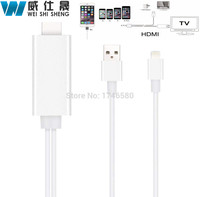2016 New Arrival 2m 8 Pin To HDMI Cable For IPhone 5 5S 6 6S Plus