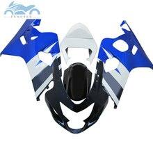 SZ24 motorrad Verkleidung kits für SUZUKI 2004 2005 GSXR600 750 sport verkleidungen kit 04 05 GSXR750 GSXR 600 K4 K5 blau ZT36